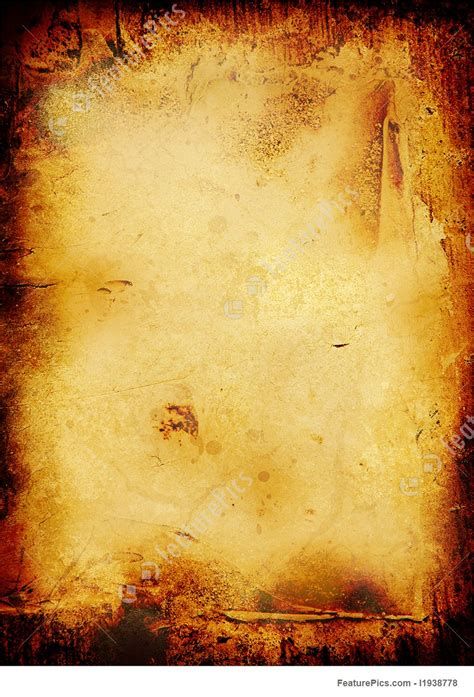 burnt scroll illustration