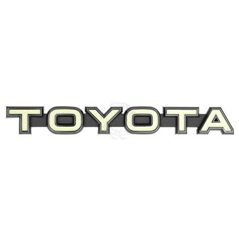 logo toyota land cruiser oem make grille nameplate emblem badge for toyota fj40