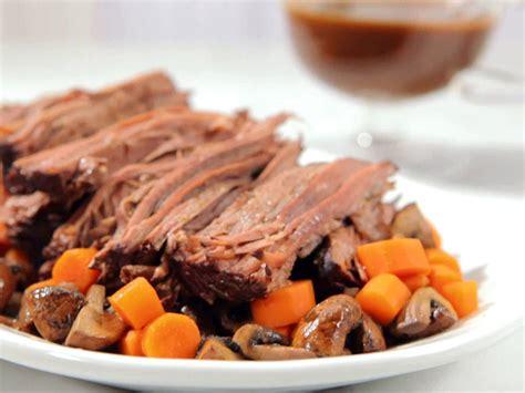 Slow Cooker Brisket with Brown Gravy | Recipe | Food network recipes, Slow cooker recipes, Slow ...