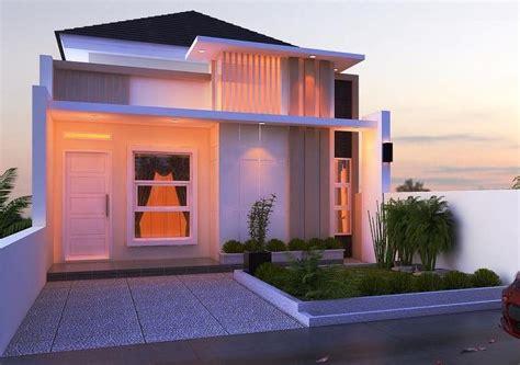 desain rumah minimalis type   lantai mewah rumah