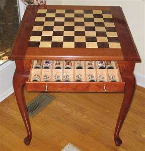 Chess Tables - Woodworking Blog Videos Plans How To