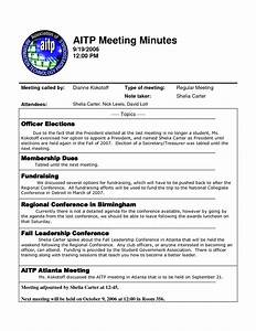 Best photos of template of minutes of meetings examples for Taking minutes in a meeting template