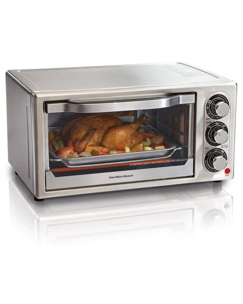 Toaster Oven Toast - hamilton 31511 stainless steel 6 slice