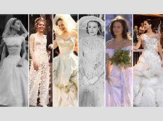 The Most Iconic Wedding Dresses of History Carrie's
