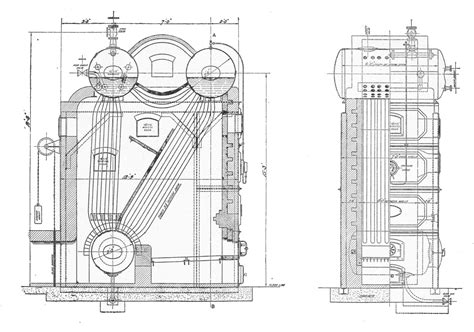 Stirling Three-drum Watertube Boiler (rankin Kennedy