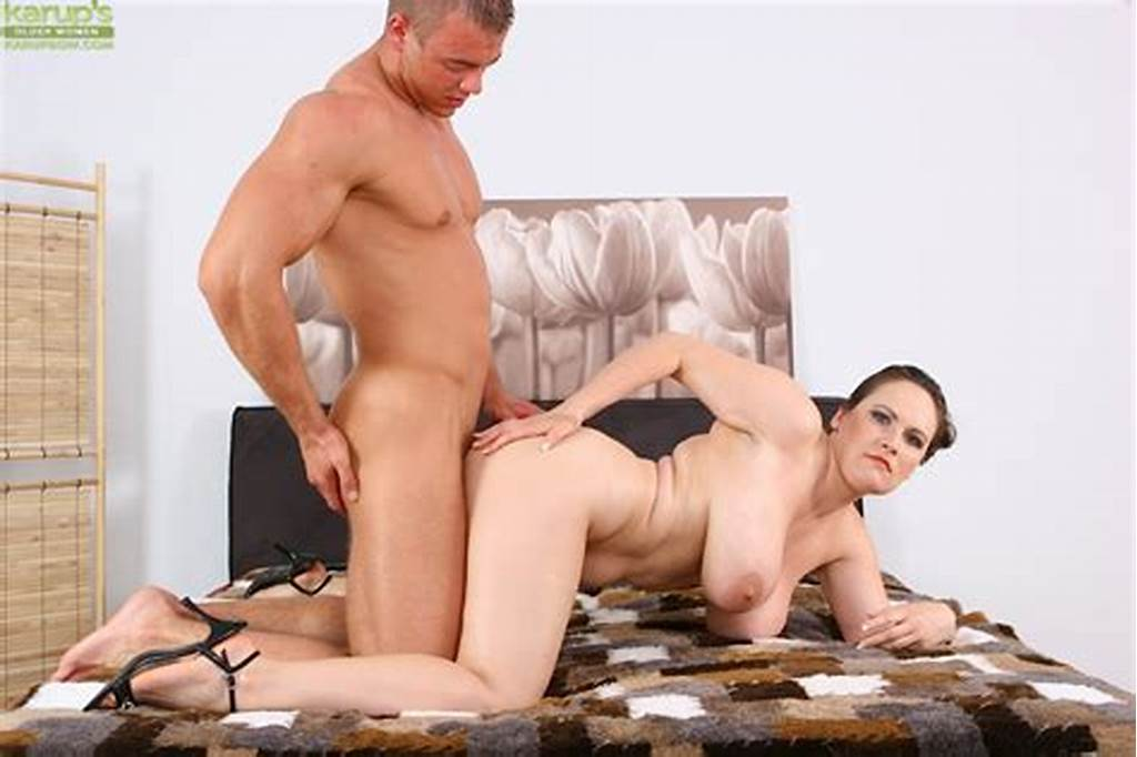 #Busty #Mature #Babe #Olarita #Gets #Her #Twat #Pounded #By #Cock