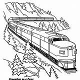 Coloring Train Pages Caboose Getcolorings Print Printable sketch template