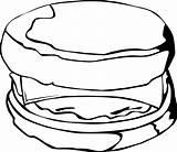 Clipart Clip Breakfast Sandwich Dwi Tuna Cliparts Library sketch template