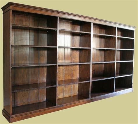oak book shelf oak reproduction bookcase oak bookshelves glazed