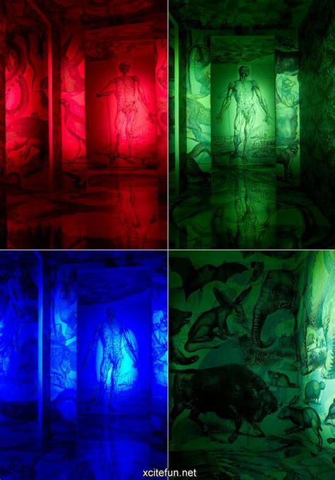 color lights rgb  art painting light art