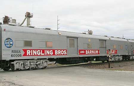 Ringling Brothers Circus Train Locomotive
