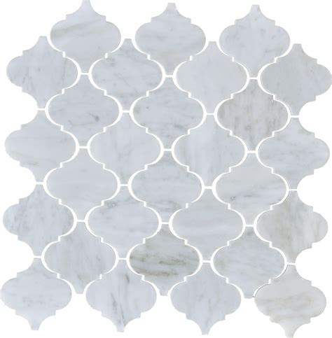 white arabesque tile white venatino arabesque honed mlw llc norcross