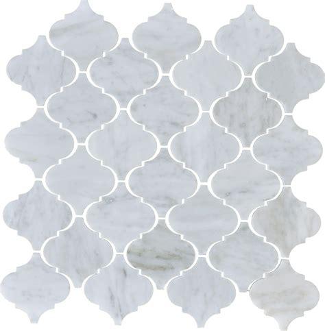 arabesque white tile white venatino arabesque honed mlw stone llc norcross georgia