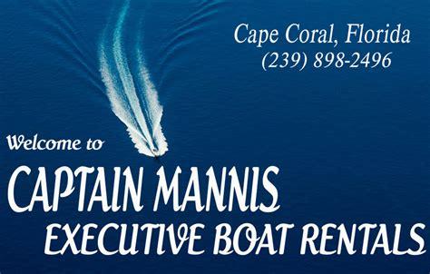 Captain Mannis Boat Rental boat rentals captain mannis executive boat rentals