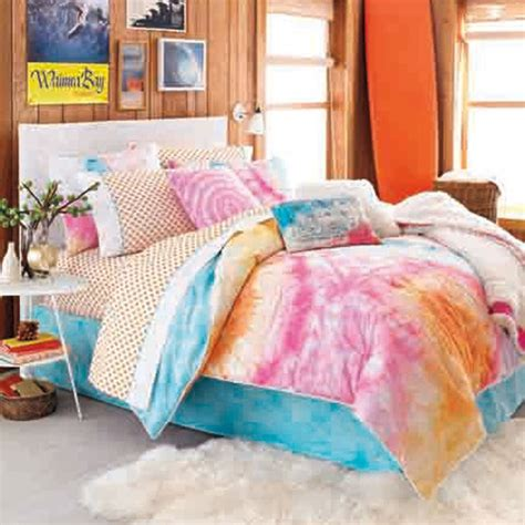 tie dye bed sheets my color choices would be blue orange