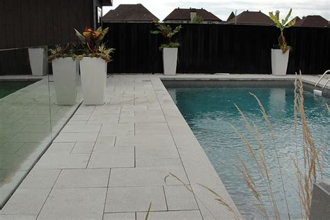modern pool deck tiles montreal outdoor living