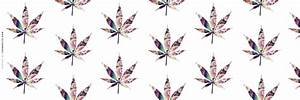 Tie Dye Weed Twitter Header - Hipster Wallpapers