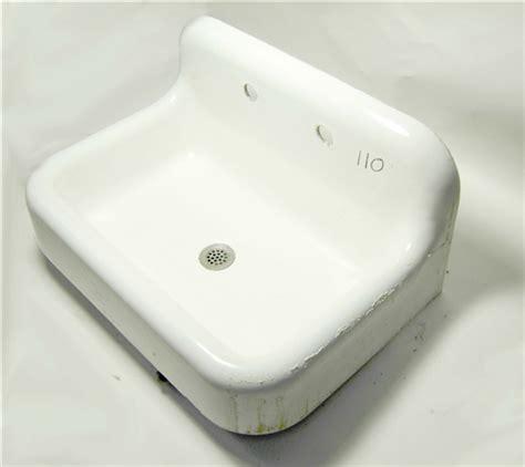 Kohler Vintage Cast Iron Sink  Backsplash
