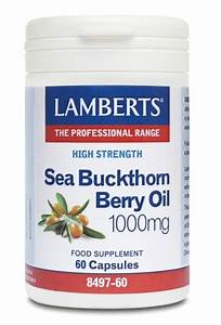 Sea Buckthorn Berry Oil  Sea Buckthorn Oil  1000mg 60