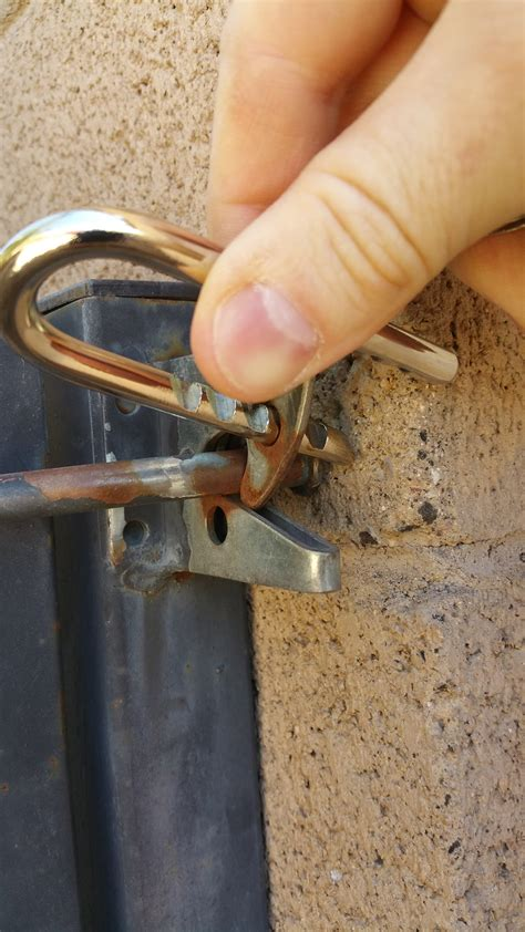 lock suggestions  gate latch issue home improvement stack exchange