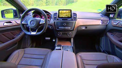 Новый топовый mercedes gle coupe 63s amg (c167) 2021 уже в россии. 2016 Mercedes-Benz AMG GLE63 S 4MATIC SUV Interior Design HD - YouTube