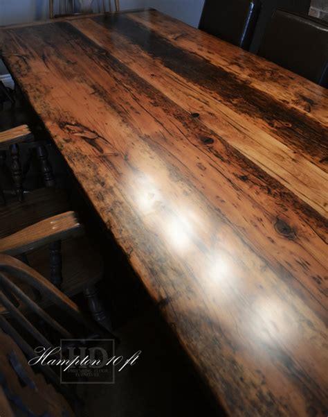 reclaimed flooring ontario reclaimed wood harvest table ajax ontario gerald reinink 6 blog