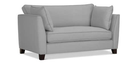canape de salon canapé de salon design scandinave 2 places tissu pas cher