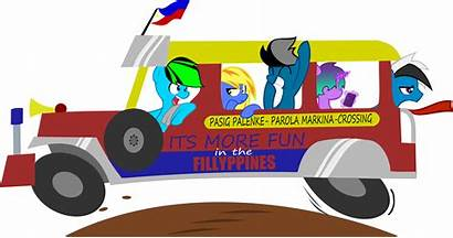 Jeepney Clipart Jeep Philippine Tricycle Cartoon Transparent
