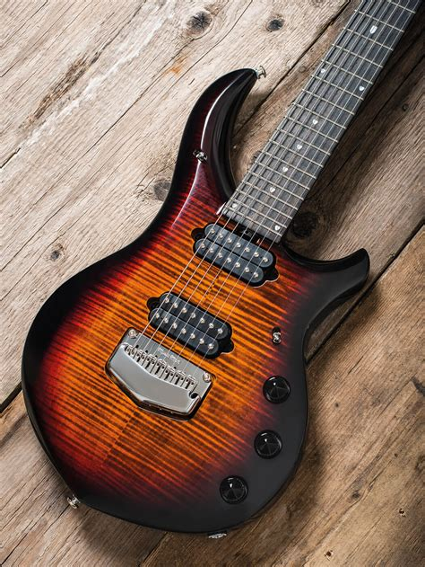 Controls deserve a section for themselves in this review as they are so extensive. Review: Ernie Ball Music Man John Petrucci Majesty ...