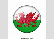 Wales Flag Illustration Stock Photos & Wales Flag