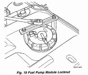 How To Change Fuel Pump On 2001 Pt Cruzer