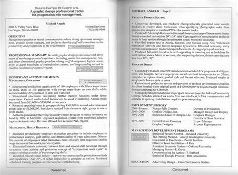 resume exles best two page resume format free how to