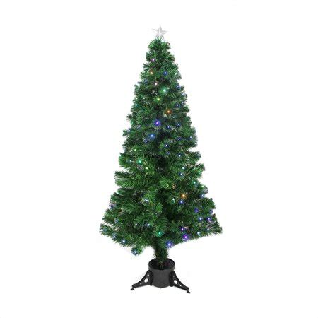 christmas trees at walmart willows ca 6 pre lit led color changing fiber optic tree
