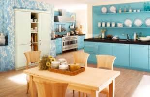kuchen design blue kitchens