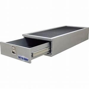 Better Built Long Locking Suv Storage Drawer  U2014 Aluminum