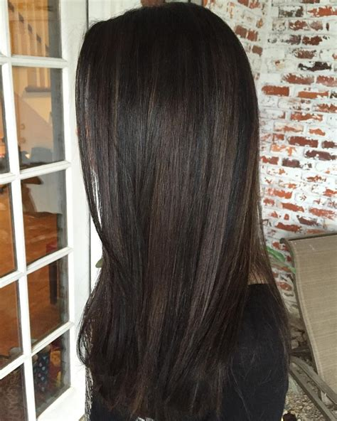 Dye Brown Hair Black by Hair Painting Taking This New Client From Black Box Dye