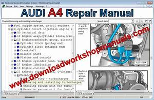 Audi A4 Workshop Repair Manual