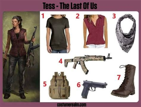 Best The Last Of Us Tess Costume Guide