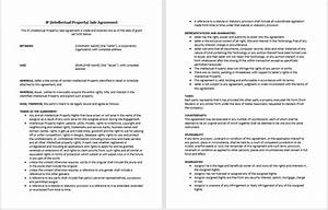 intellectual property sale agreement template microsoft With intellectual property licence agreement template