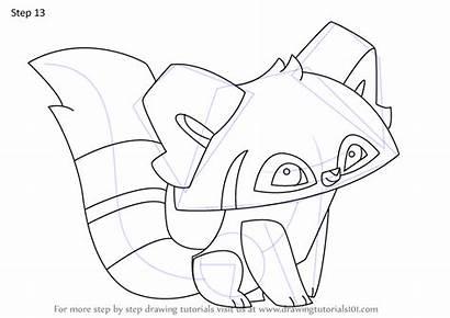 Panda Animal Jam Draw Drawing Step Tutorials