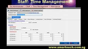 Time Management System Tutorial
