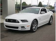 New 2014 Ford Mustang Coupe GT White Car Charleston