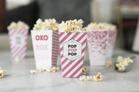 pretty  pistachio pretty pink popcorn boxes