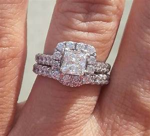 pics of neil lane 15 ct halo engagement ring on 45 size With size 4 5 wedding rings