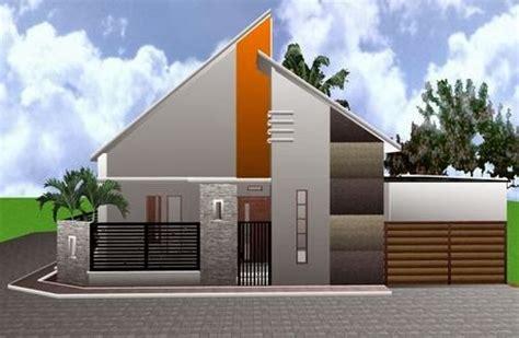gambar rumah minimalis satu lantai unik gaya