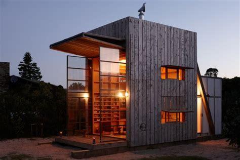 Strandhütte auf Kufen, Neuseeland   Tiny Houses
