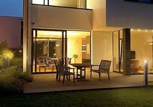 Haus Garten Außenbeleuchtung : au enbeleuchtung ideen f r garten wege und hauseingang ~ Lizthompson.info Haus und Dekorationen