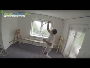 Vliestapete Tapezieren Fenster : decke tapezieren vliestapete malervlies glattvlies youtube ~ Eleganceandgraceweddings.com Haus und Dekorationen