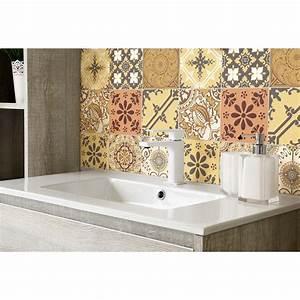 Art Et Carrelage : 9 stickers carrelages azulejos baroques art et design ~ Melissatoandfro.com Idées de Décoration