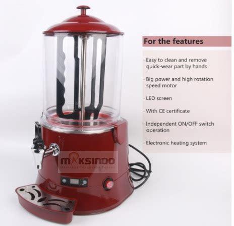 jual mesin dispenser coklat panas chc  pekanbaru
